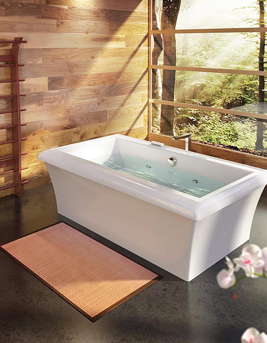 Whirl magazine Origami bathtub